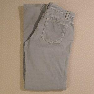 J. Crew Straight Leg Corduroy Pants